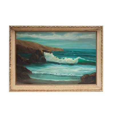 Chris Winton Seascape Oil Painting