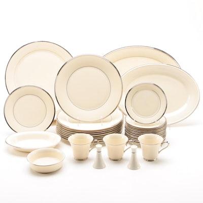 "Lenox ""Solitaire"" China Dinnerware, Vintage"