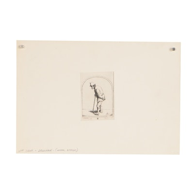 Late 19th Century Etching after David Deuchar