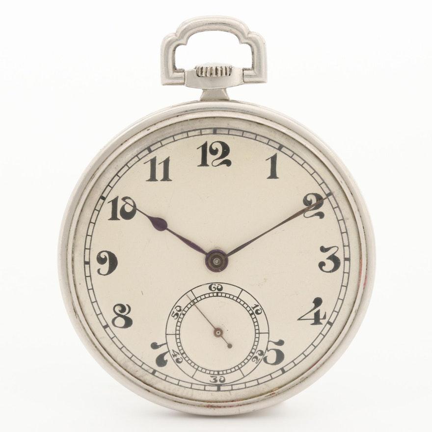Haas Swiss Platinum Pocket Watch
