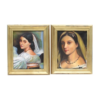 Portrait Oil Paintings of Women