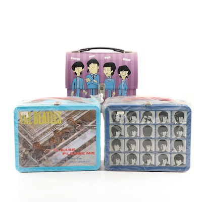 Contemporary Beatles Lunch Boxes