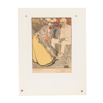 "Early 20th Century Lithograph after Francisco Gose for ""L' Assiette au Beurre"""