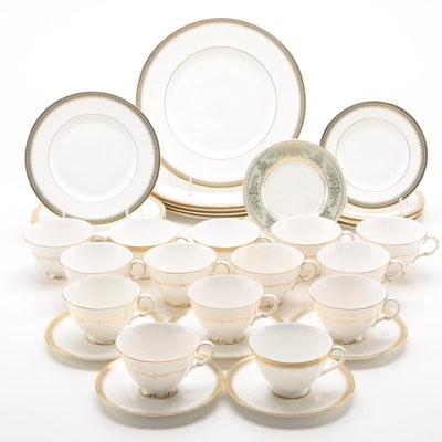 "Royal Doulton ""Clarendon"" and ""Richelieu"" and Other China Dinnerware"