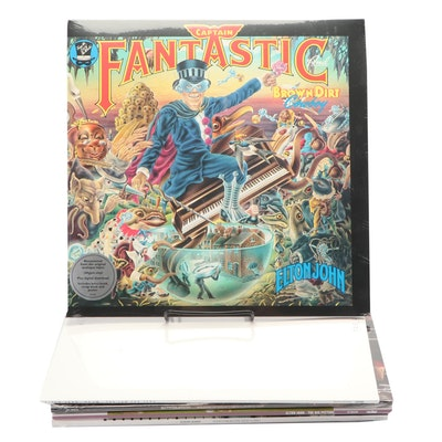 Elton John Sealed Vinyl Record Collection