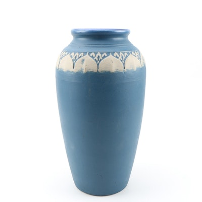 Monmouth Pottery Arts and Craft Style Earthenware Vase