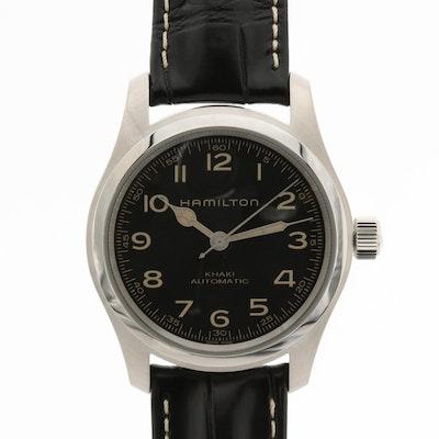 Hamilton Khaki Field Murph Stainless Steel Automatic Wristwatch