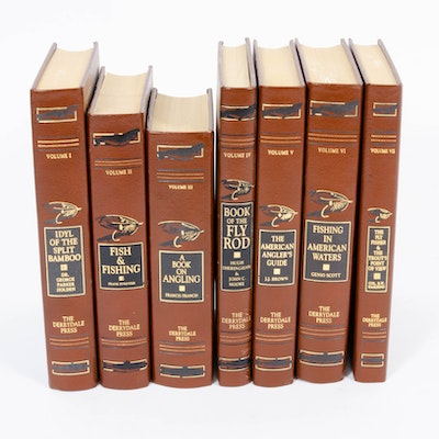 """Fly Fisherman's Gold"" Limited Edition Leather Bound Books, Volumes I-VII"