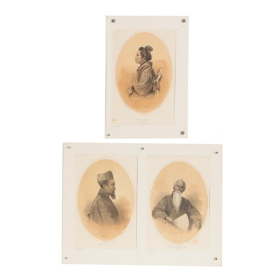 P.S. Duval & Son Lithographs after Eliphalet M. Brown