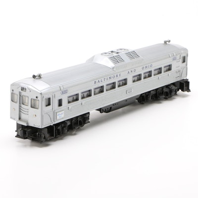 Lionel O Gauge Baltimore & Ohio #400 Budd Diesel Passenger Car, 1956-1958