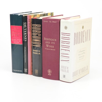 """Books on Wine Featuring """"Burgundy"""" by Robert M. Parker, Jr."""