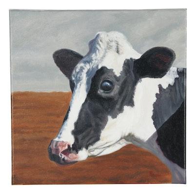 "Peter Lentini Oil Painting ""Millie"""
