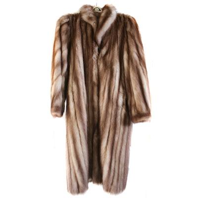 Stone Marten Fur Coat, Vintage