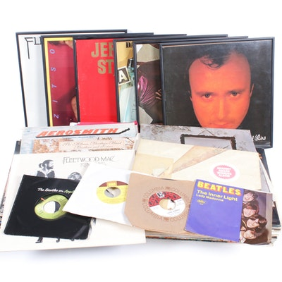 Vinyl Records Featuring The Beatles, The Doors, Led Zeppelin and Much More