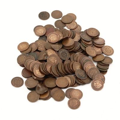 207 Bronze Indian Head Cents