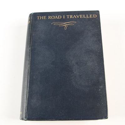 "1936 First Edition ""The Road I Travelled"" by A. J. Boger"