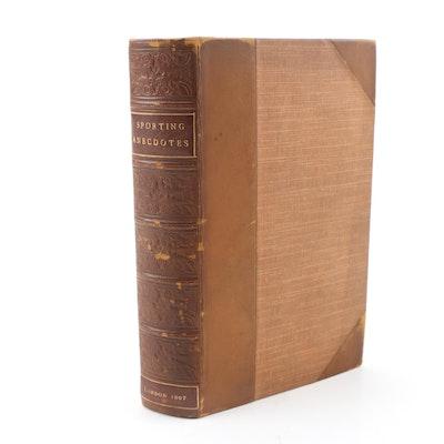 "1807 ""Sporting Anecdotes"" by Pierce Egan"