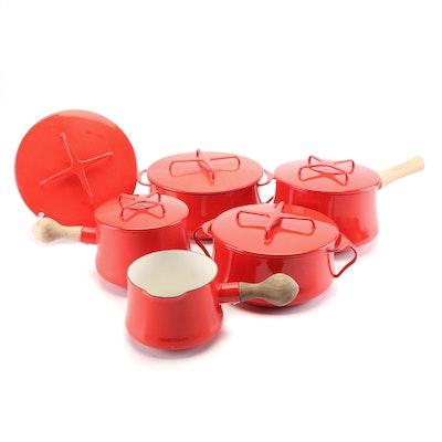 """Dansk """"Kobenstyle"""" Enamelware Pots"""