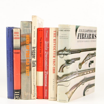 """The Book of the Garand"" with Additional Vintage Firearm Books"