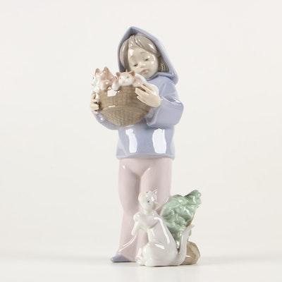 "Lladró ""Mother's Little Helper"" Porcelain Figurine, 1993-1998"