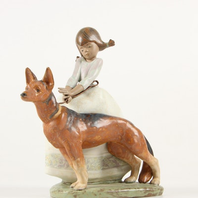 "Lladró ""Not So Fast"" Gres Semi-Porcelain Figurine, 1990-1996"