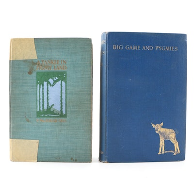 "First Edition ""A Yankee in Pigmy Land"" and ""Big Game and Pygmies"""