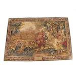 """De Rambouillet Silkscreen Tapestry after """"Histoire du Roi, le Canal de Bruges"""""""
