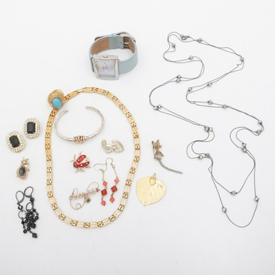 Vintage and Contemporary Costume Jewelry