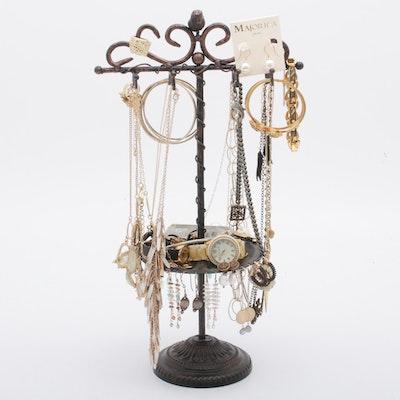 Contemporary Designer Jewelry Including Anne Klein, Seiko, and More