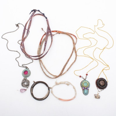 Lizou and More Necklaces and Bracelets, Contemporary