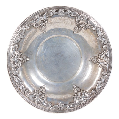 "Wallace ""Grande Baroque"" Sterling Silver Shallow Bowl"