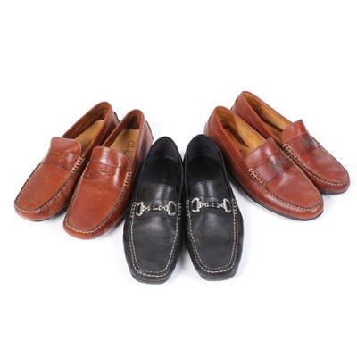 Men's Cole Haan, Geox, and Martin Dingman Leather Loafers