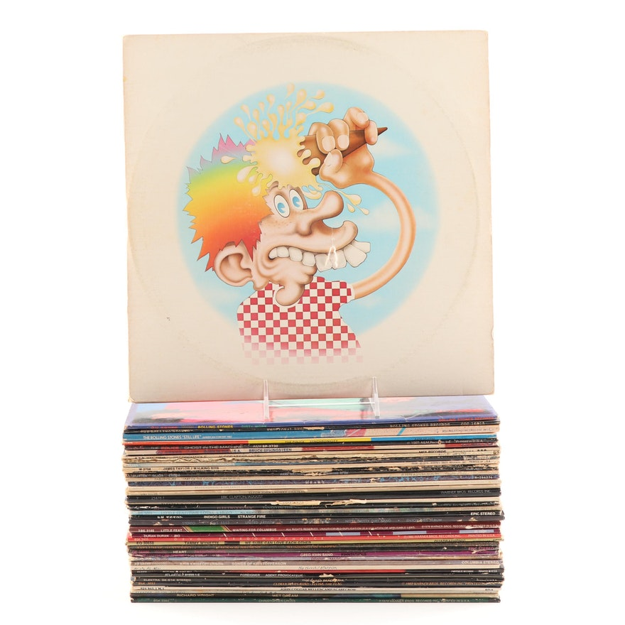 Rock Records Featuring Grateful Dead, Rolling Stones, The Police, More
