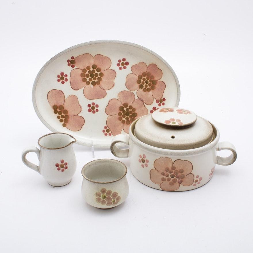 "Denby-Langley ""Gypsy"" Stoneware Serveware, Vintage"