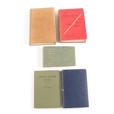 "First Edition ""Shikar Sketches"" with Additional Shikar Books"