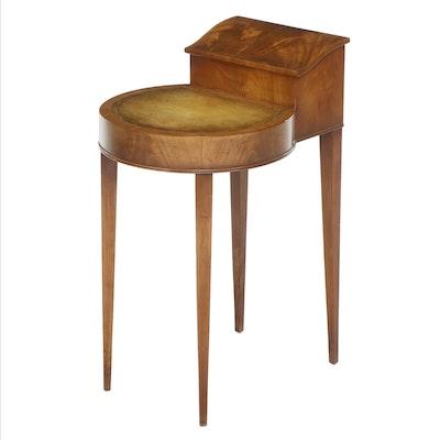 Weiman Heirloom Mahogany Smoking Table, Mid-20th Century