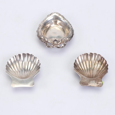 Reed & Barton and Maciel Mexican Sterling Teabag Trays