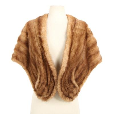 Mink Fur Stole from Stripling's of Fort Worth, Vintage