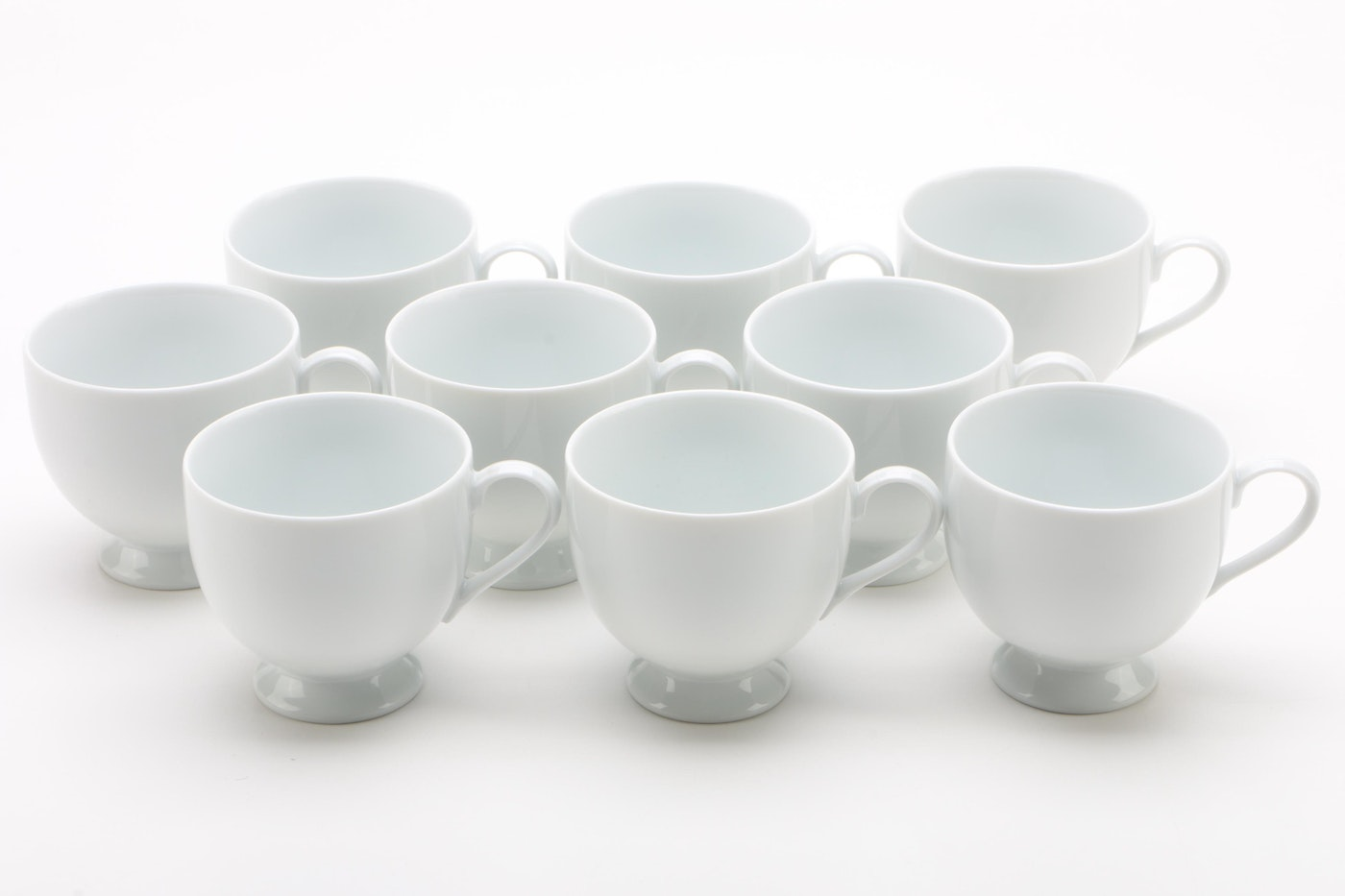 "Mikasa ""Classic Flair White"" China Dinnerware, 1984"