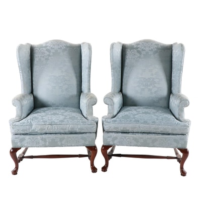 Southwood Wing Back Chairs with Spring and Down Cushions