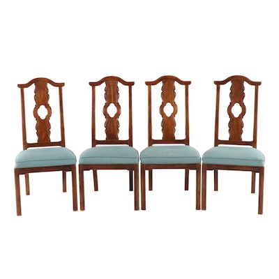 "Thomasville ""Mystique Asian Chinoiserie"" Dining Chairs, Mid-20th Century"