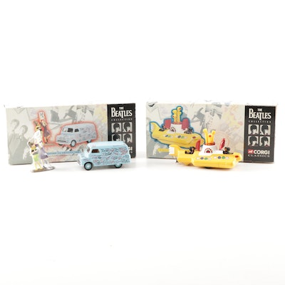 The Beatles Collection Corgi Classics Die Cast Vehicles