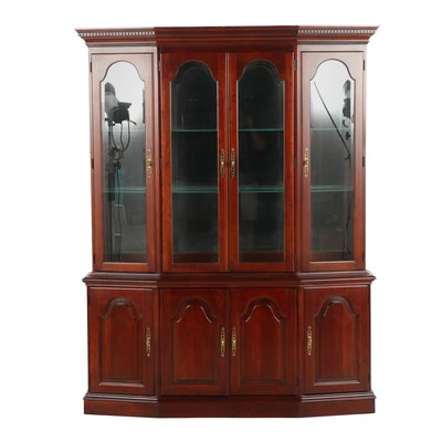Pennsylvania House Transitional/Federal Style Cherry China Cabinet