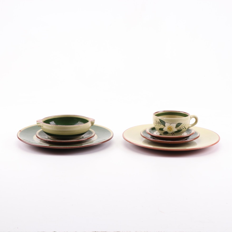 """Stangl Pottery """"Star Flower"""" Dinnerware, Mid to Late 20th Century"""