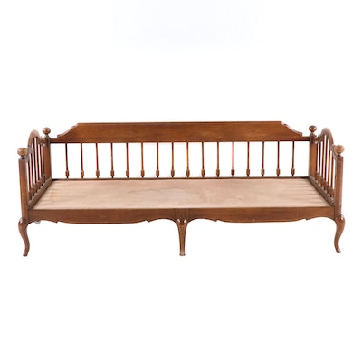 French Provincial Style Cherry Day Bed