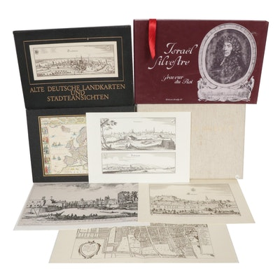 Lithographs and Engravings after European Artists and Maps