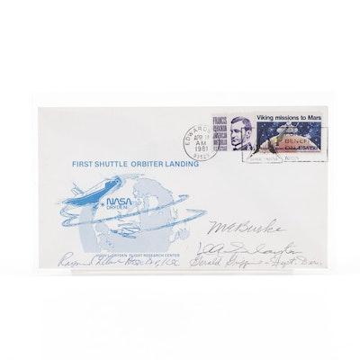 Deke Slayton Mercury Seven Astronaut Signed NASA Mail Cover