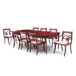 Drexel Mahogany Dining Table and Chairs