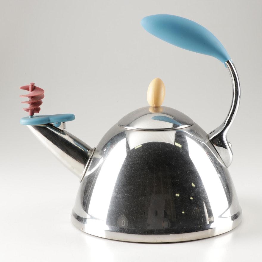 Michael Graves Spinning Whistling Tea Kettle, 2000s