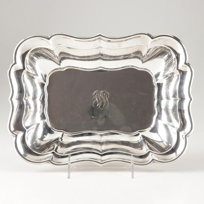 "Reed and Barton Sterling Silver ""Windsor"" Rectangular Vegetable Bowl"